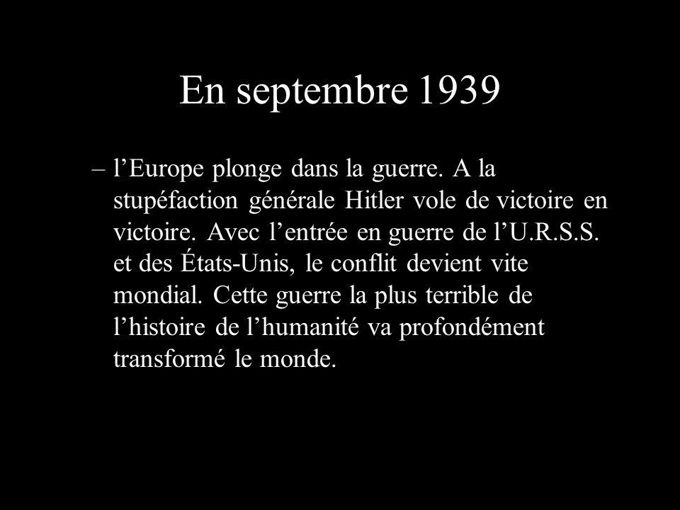 En septembre 1939