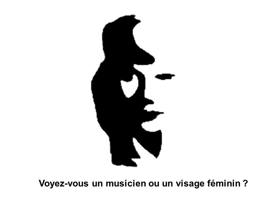 Voyez-vous un musicien ou un visage féminin