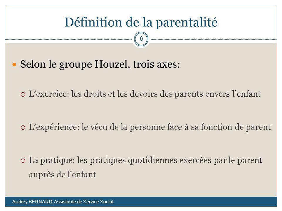 Définition de la parentalité