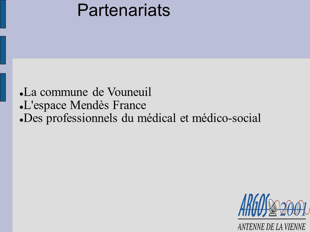 Partenariats La commune de Vouneuil L espace Mendès France