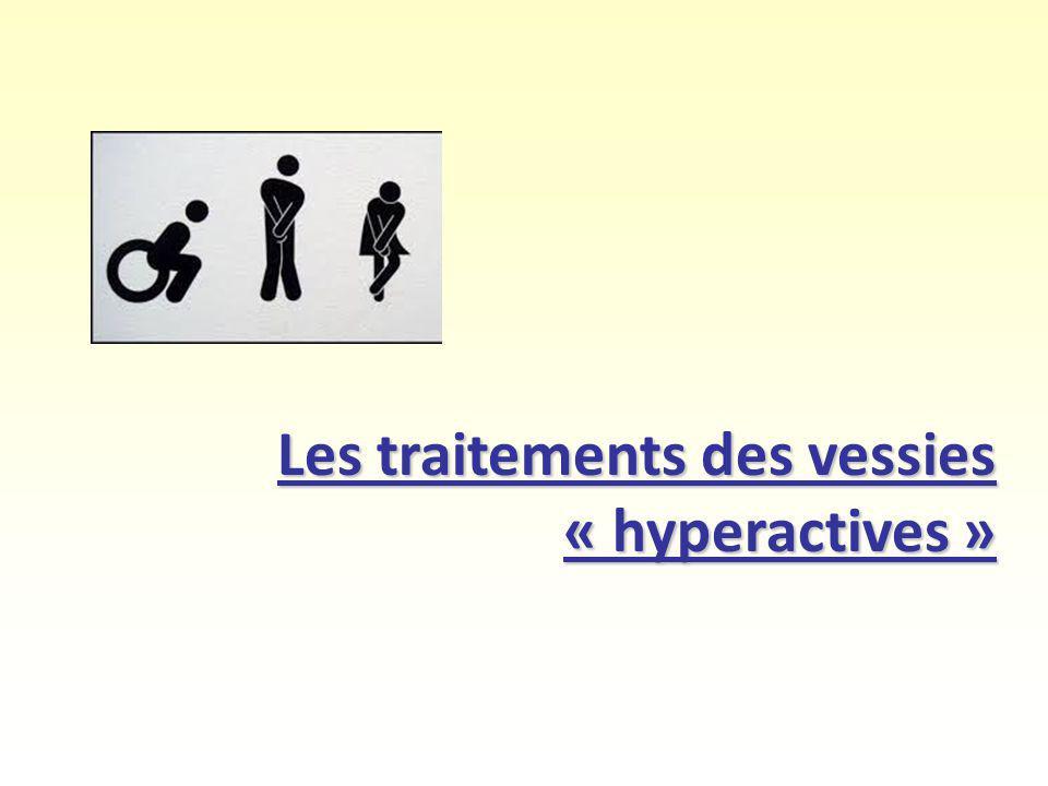 Les traitements des vessies « hyperactives »