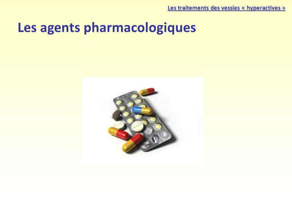 Les agents pharmacologiques