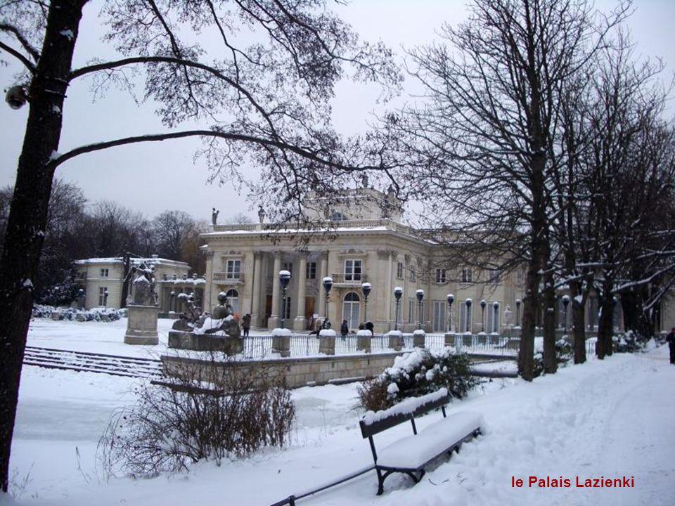 le Palais Lazienki