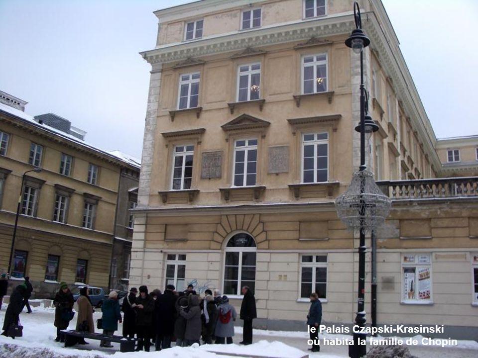 le Palais Czapski-Krasinski