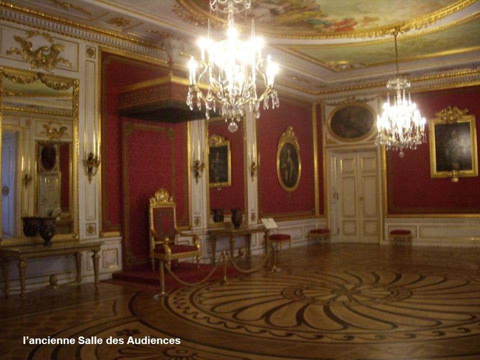 l'ancienne Salle des Audiences