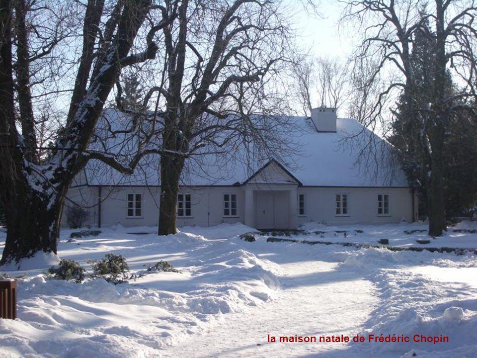 la maison natale de Frédéric Chopin