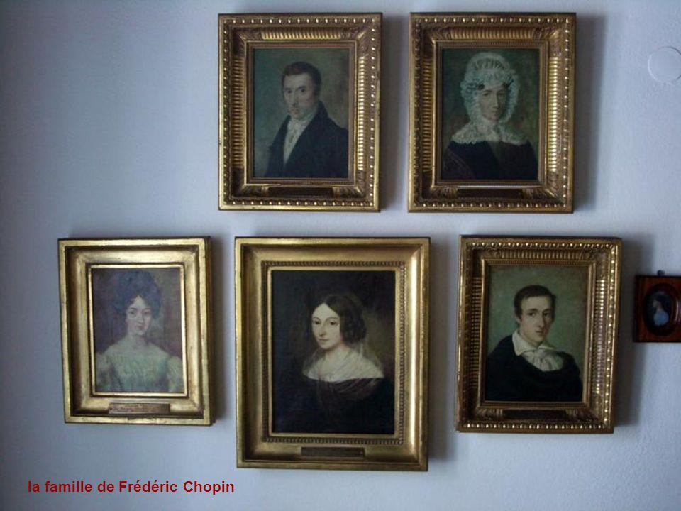la famille de Frédéric Chopin