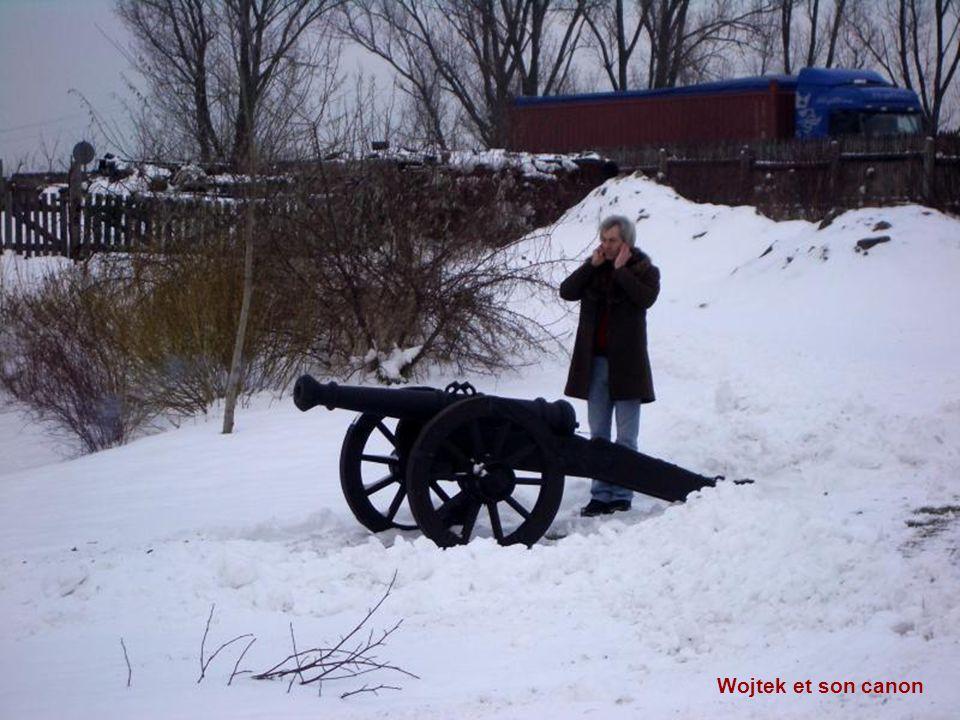 Wojtek et son canon