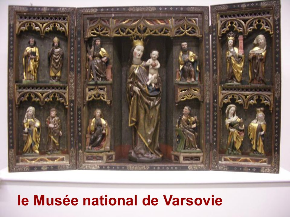 le Musée national de Varsovie