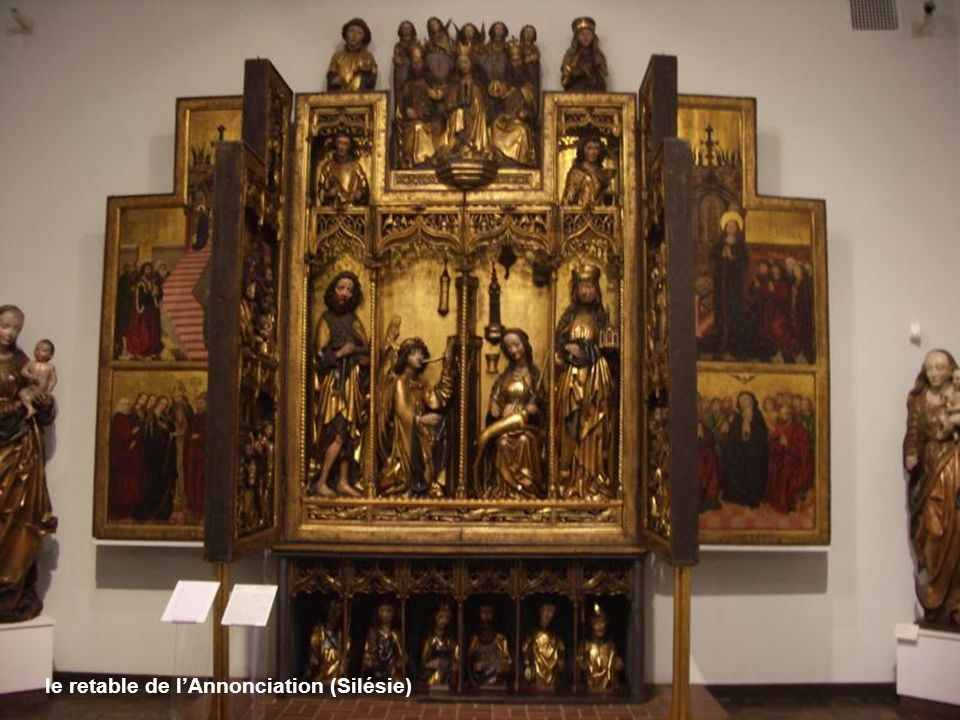 le retable de l'Annonciation (Silésie)