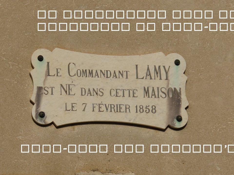 Le Commandant Lamy est le