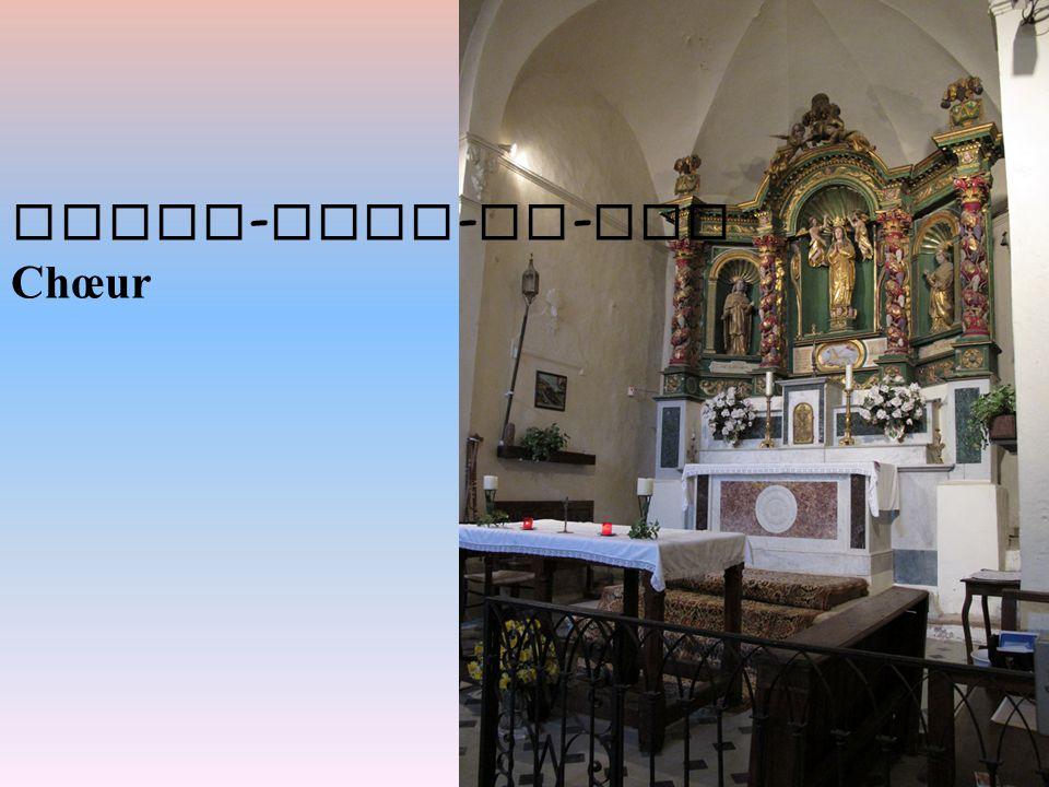 Notre-Dame-de-Vie Chœur