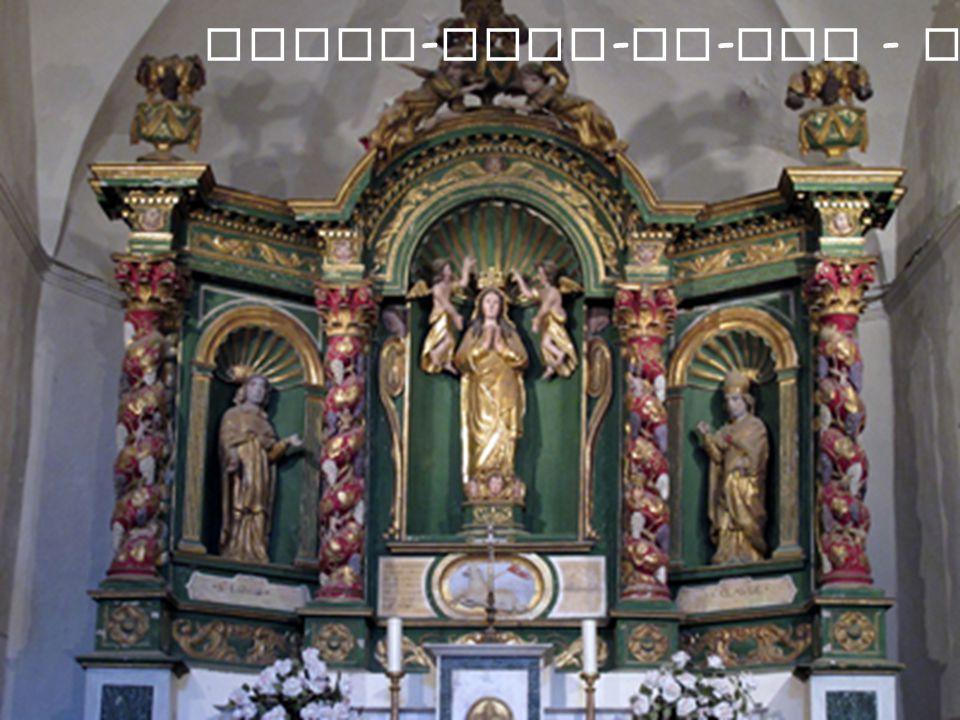 Notre-Dame-de-Vie - Autel