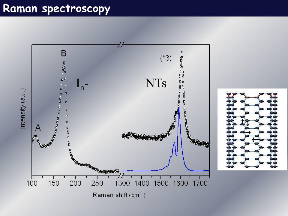 Raman spectroscopy In- NTs