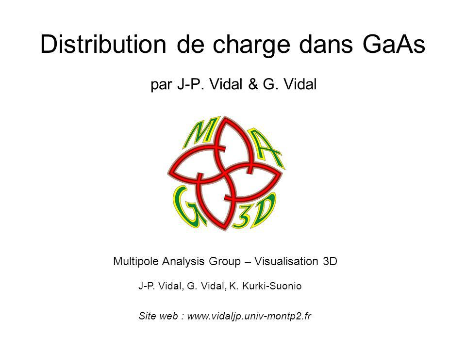 Distribution de charge dans GaAs