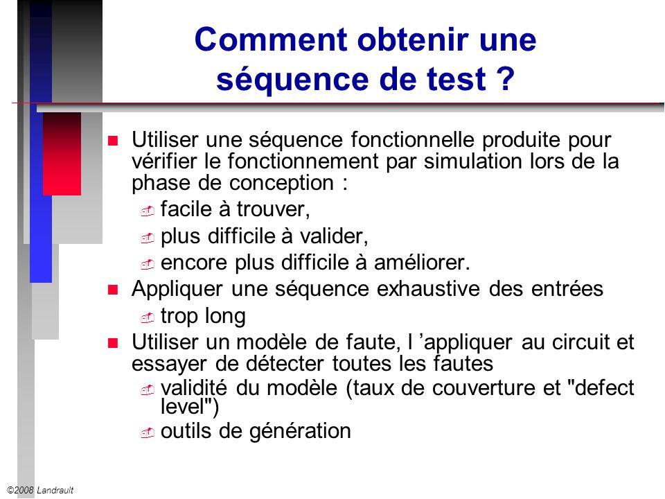 Comment obtenir une séquence de test