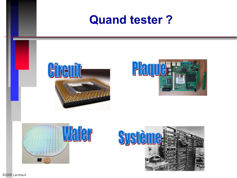Quand tester Circuit Plaque Wafer Système