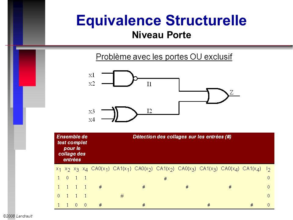 Equivalence Structurelle Niveau Porte