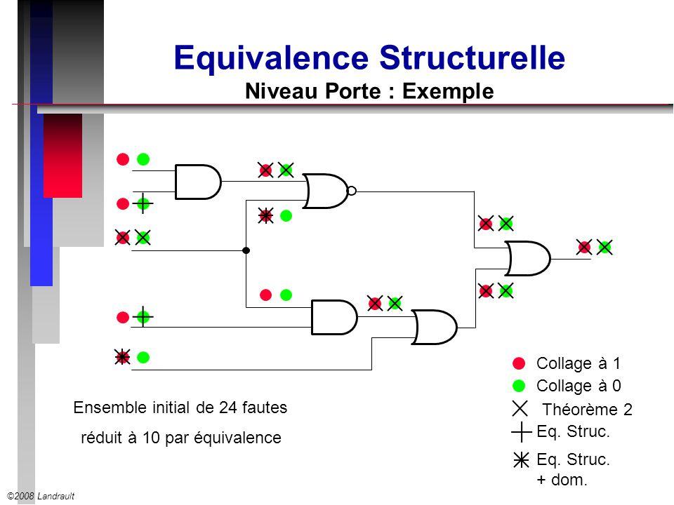 Equivalence Structurelle Niveau Porte : Exemple