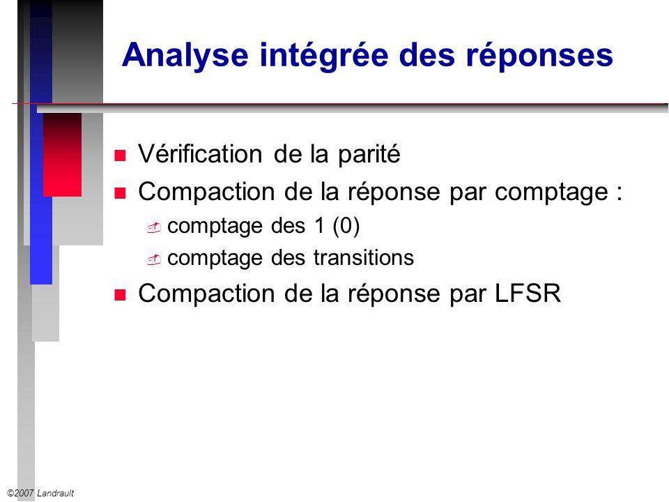 Analyse intégrée des réponses