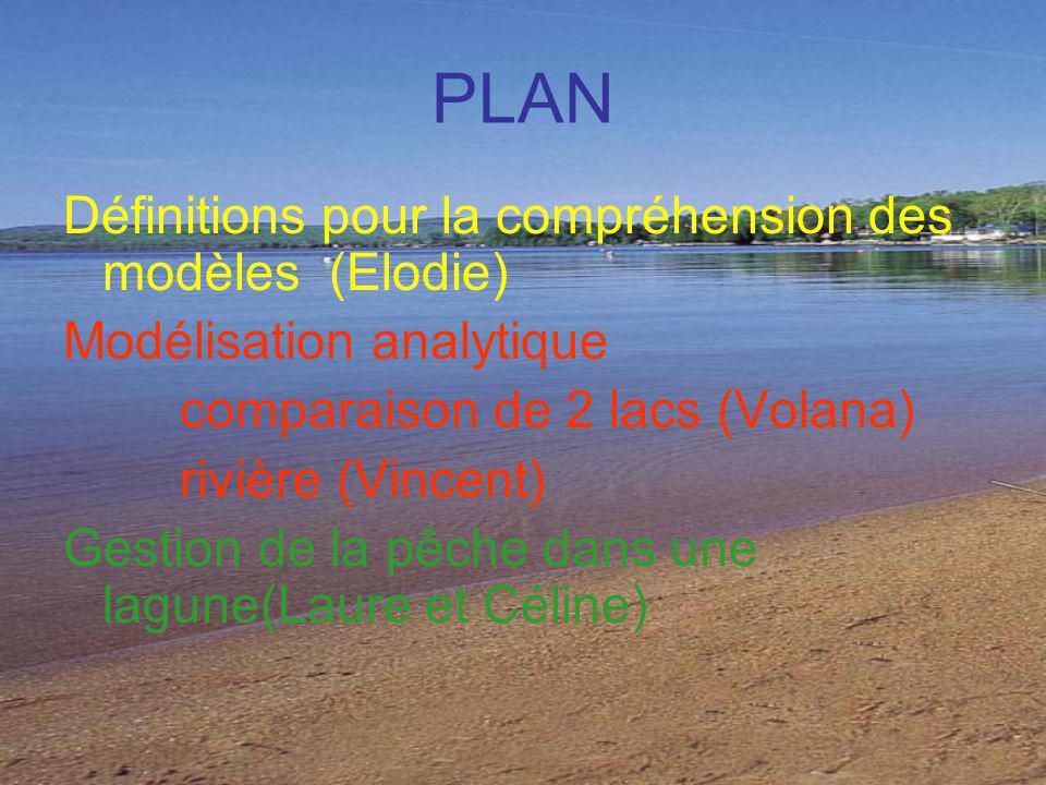 PLAN Définitions pour la compréhension des modèles (Elodie)