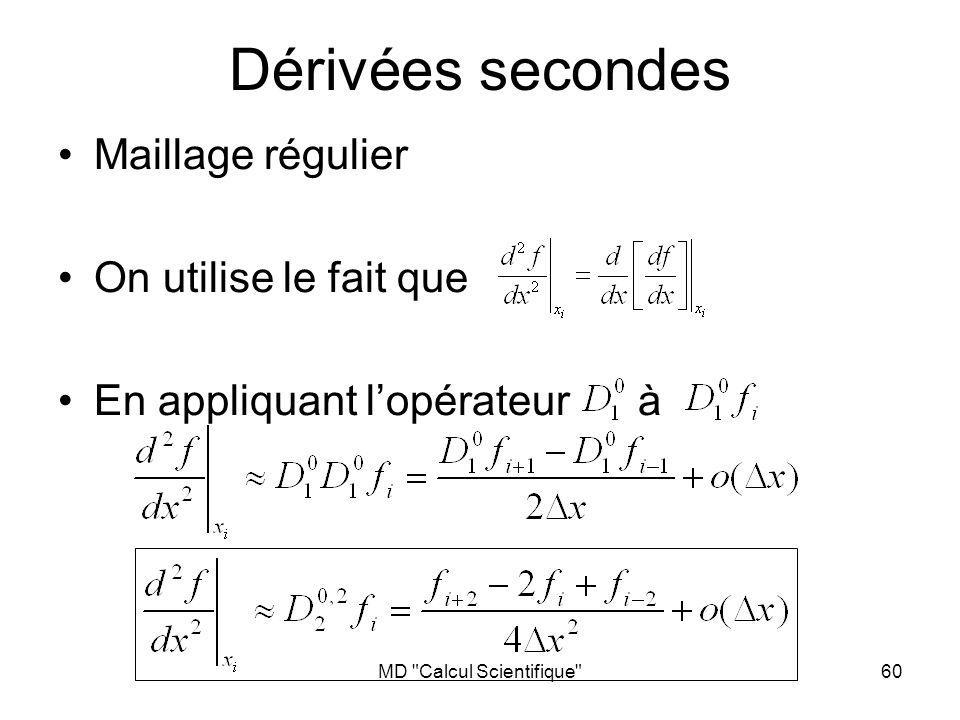 MD Calcul Scientifique