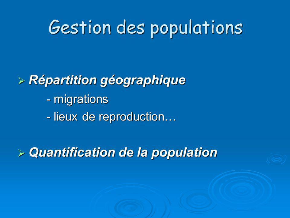 Gestion des populations