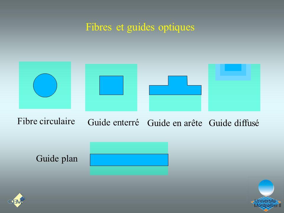 Fibres et guides optiques