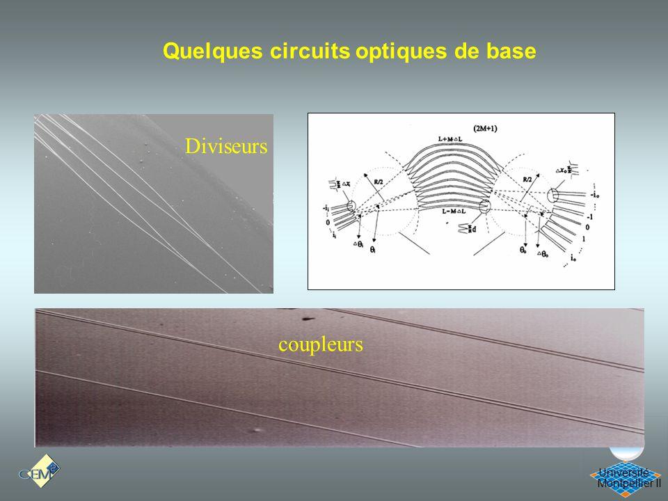 Cours Optique 21/12/05 Quelques circuits optiques de base Diviseurs