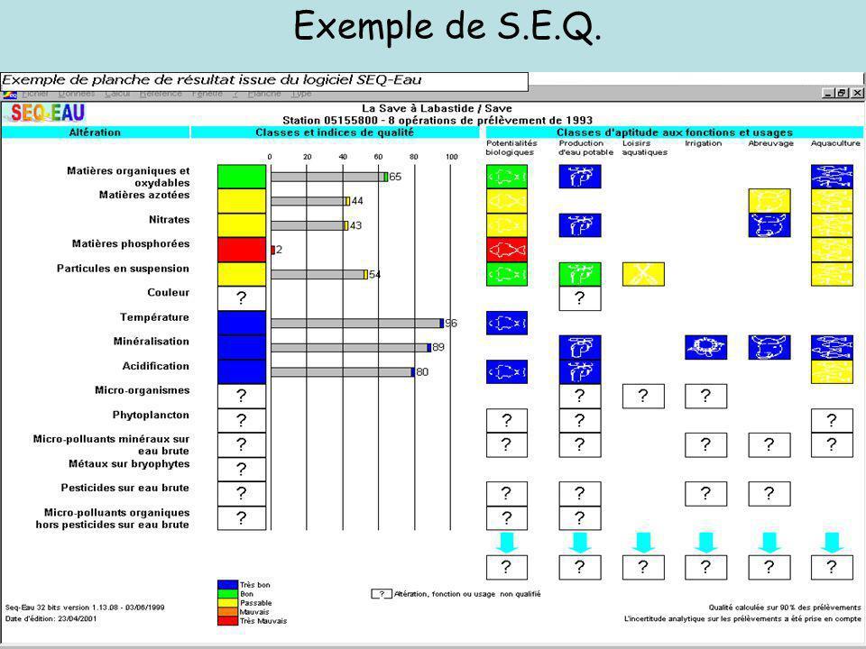 Exemple de S.E.Q.