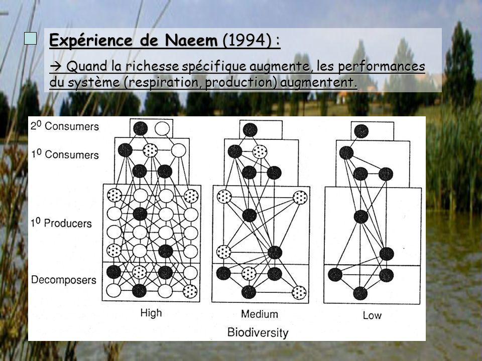 Expérience de Naeem (1994) :