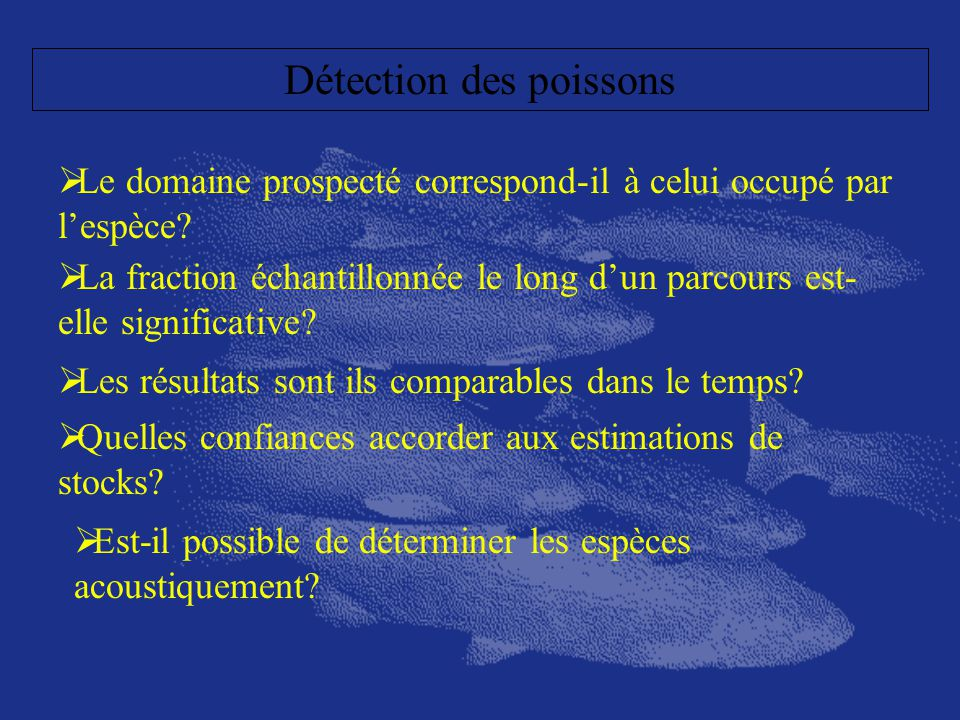 Détection des poissons