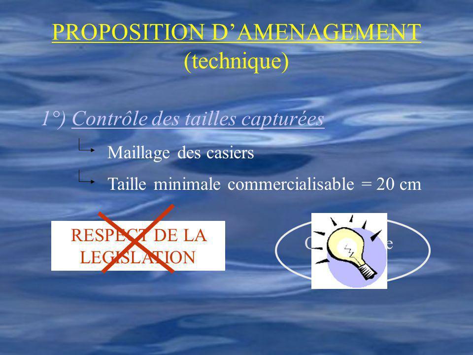 PROPOSITION D'AMENAGEMENT (technique)