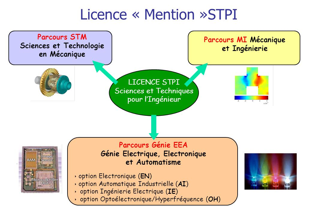 Licence « Mention »STPI