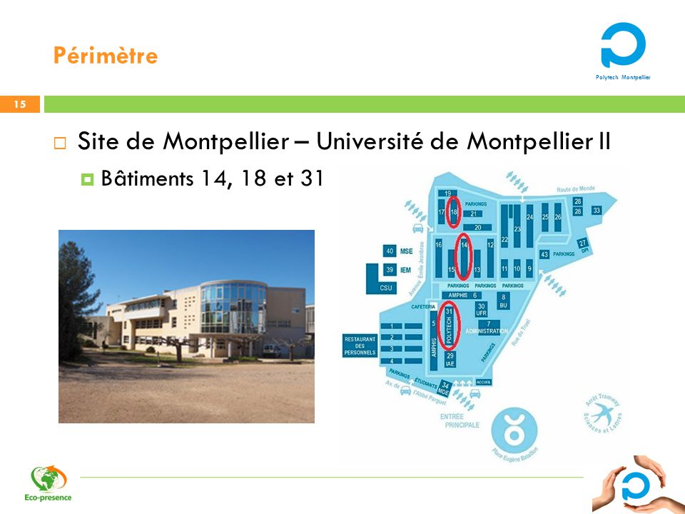Site de Montpellier – Université de Montpellier II