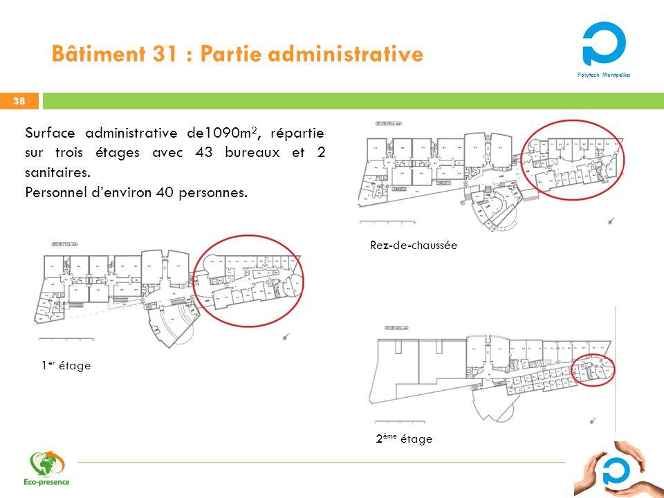 Bâtiment 31 : Partie administrative