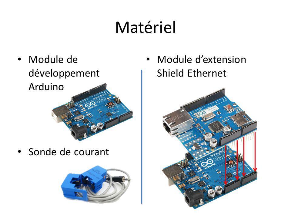 Matériel Module de développement Arduino Sonde de courant