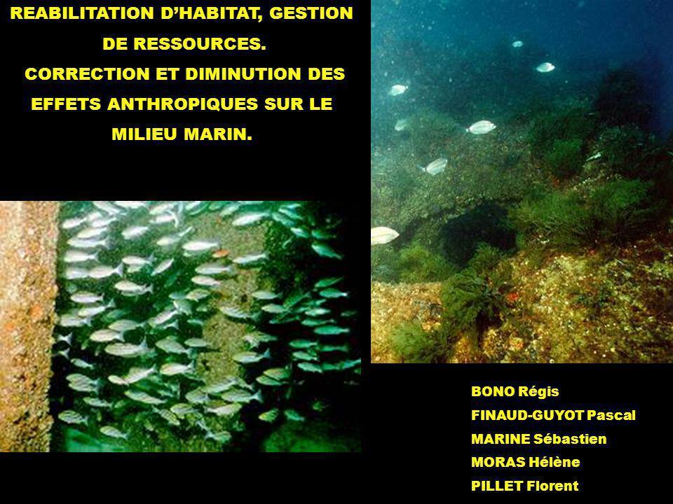 REABILITATION D'HABITAT, GESTION DE RESSOURCES.