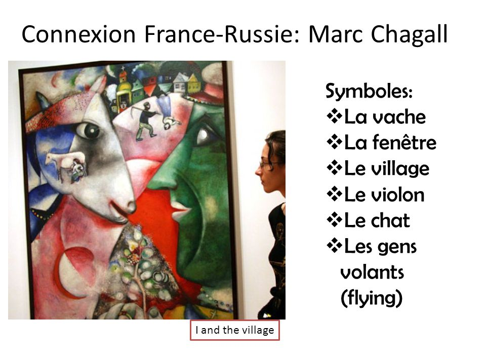 Connexion France-Russie: Marc Chagall