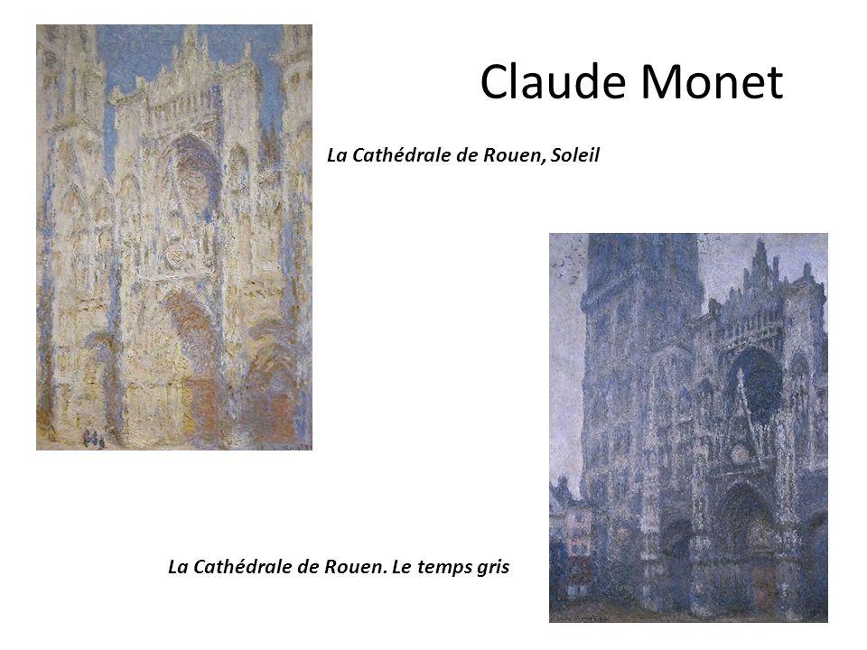 Claude Monet La Cathédrale de Rouen, Soleil