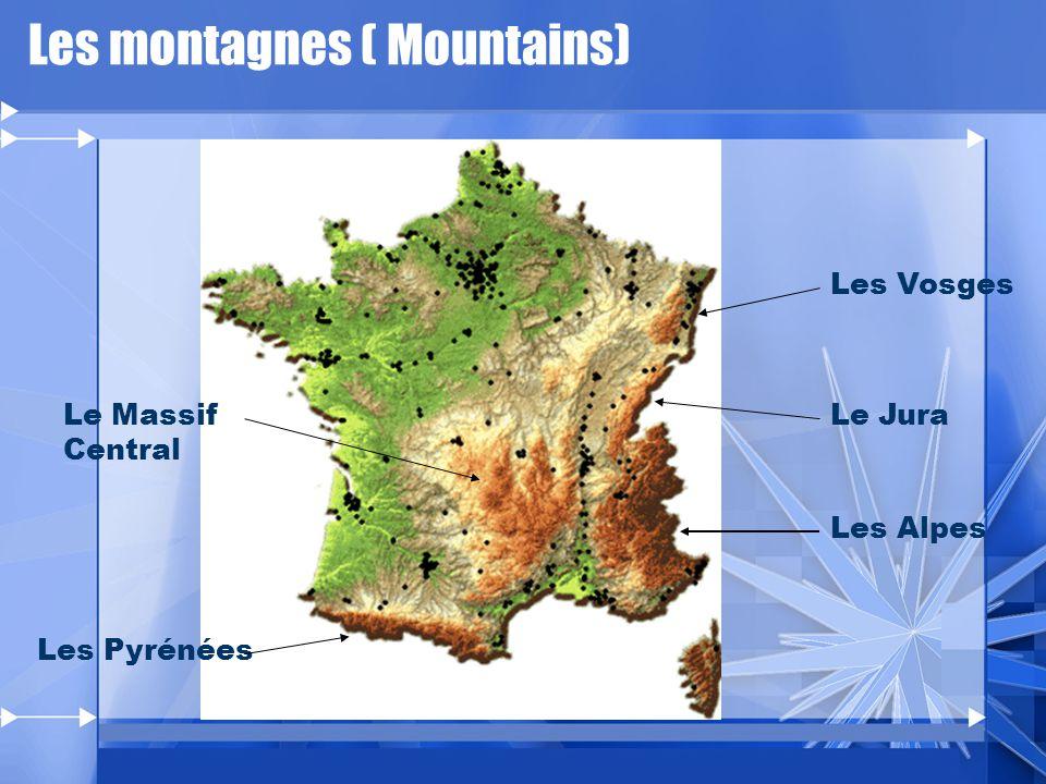 Les montagnes ( Mountains)