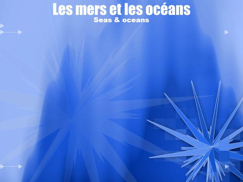 Les mers et les océans Seas & oceans