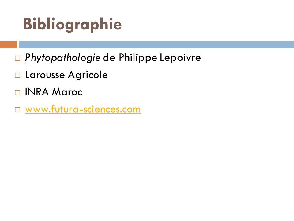 Bibliographie Phytopathologie de Philippe Lepoivre Larousse Agricole