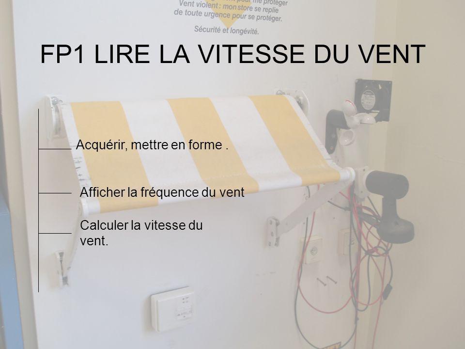 FP1 LIRE LA VITESSE DU VENT