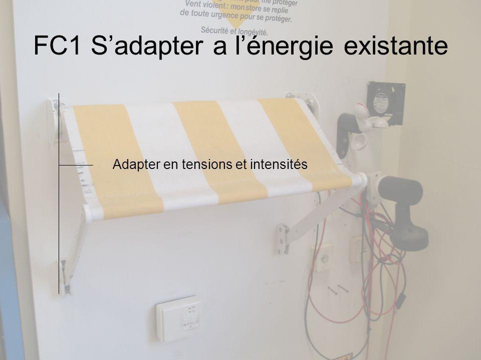 FC1 S'adapter a l'énergie existante