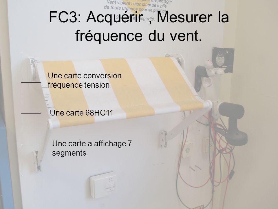 FC3: Acquérir , Mesurer la fréquence du vent.