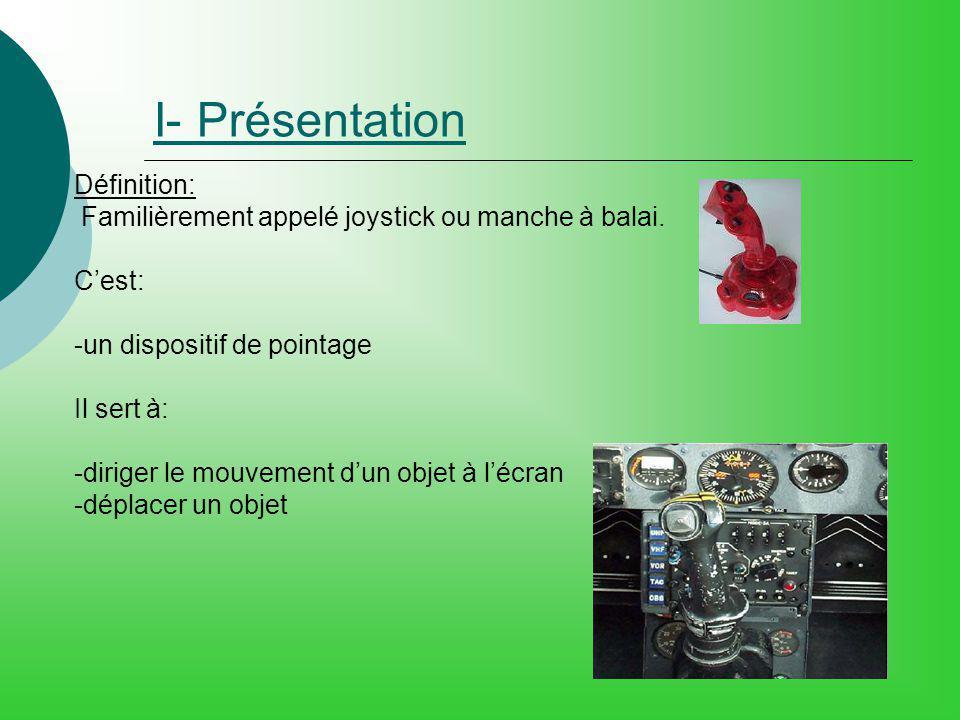 I- Présentation Définition: