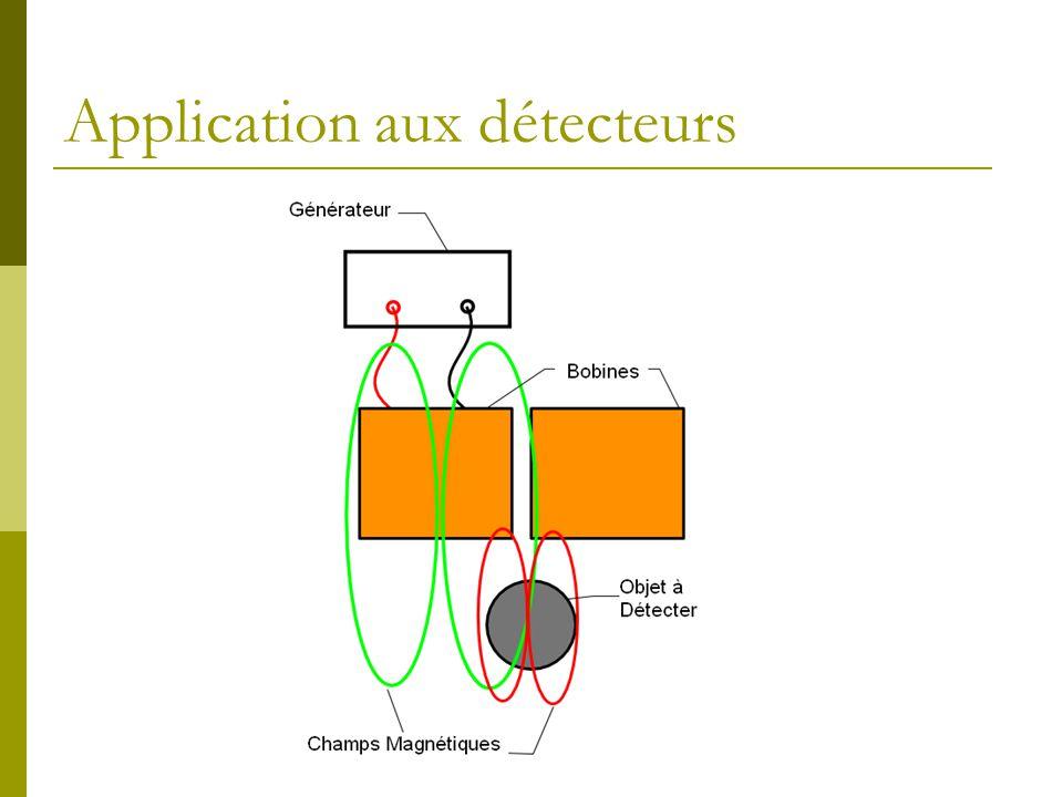 Application aux détecteurs