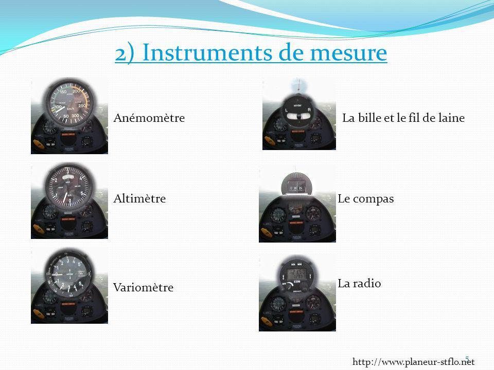 2) Instruments de mesure