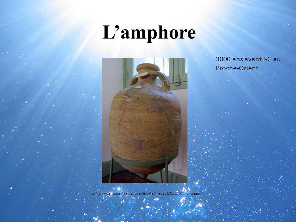 L'amphore 3000 ans avant J-C au Proche-Orient